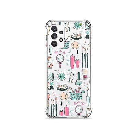 Capa (Transparente) para Galaxy A32 4G - Make Up