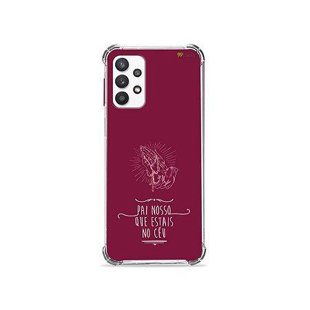 Capa para Galaxy A32 4G - Pai Nosso