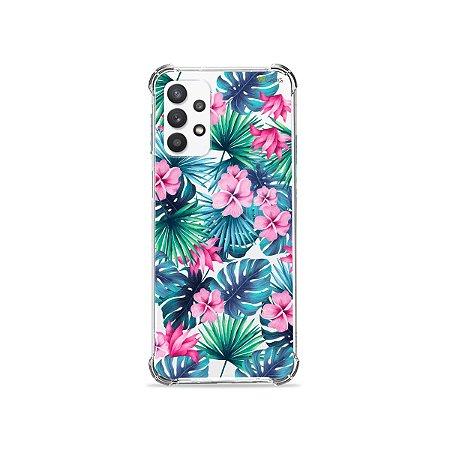 Capa (Transparente) para Galaxy A32 4G - Tropical