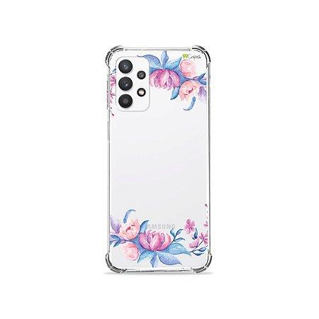 Capa (Transparente) para Galaxy A32 4G - Bromélias