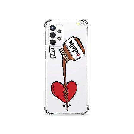 Capa (Transparente) para Galaxy A32 4G - Nutella