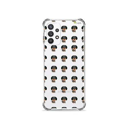 Capa (Transparente) para Galaxy A32 4G - Salsichinha