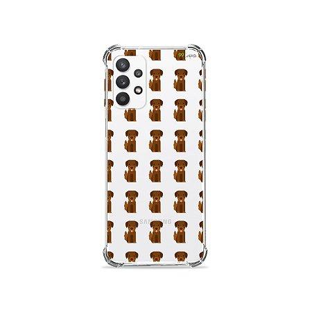 Capa (Transparente) para Galaxy A32 4G - Golden