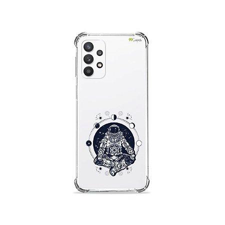 Capa (Transparente) para Galaxy A52 - Astronauta