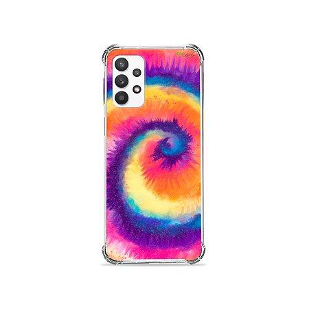 Capa para Galaxy A52 - Tie Dye Roxo