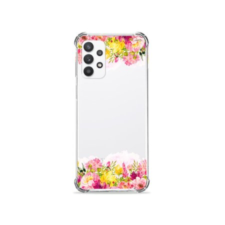 Capa (Transparente) para Galaxy A52 - Botânica