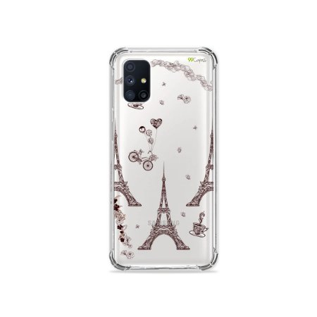 Capa (Transparente) para Galaxy M51 - Paris