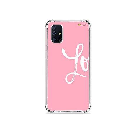 Capa para Galaxy M51 - Love 1