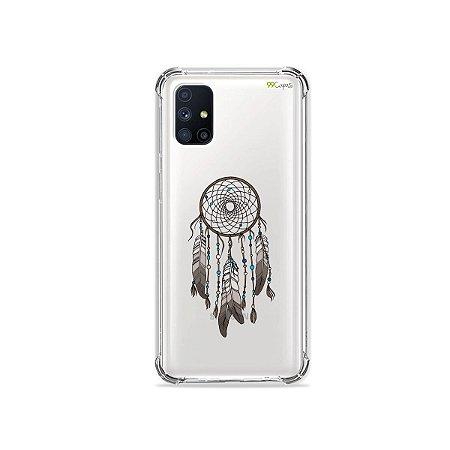 Capa (Transparente) para Galaxy M51 - Filtro dos Sonhos