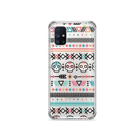 Capa (Transparente) para Galaxy M51 - Tribal