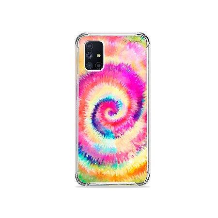 Capa para Galaxy M51 - Tie Dye