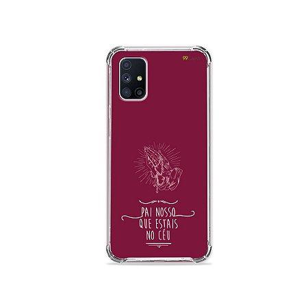 Capa para Galaxy M51 - Pai Nosso