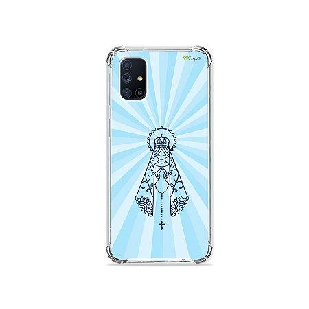 Capa para Galaxy M51 - Nossa Senhora