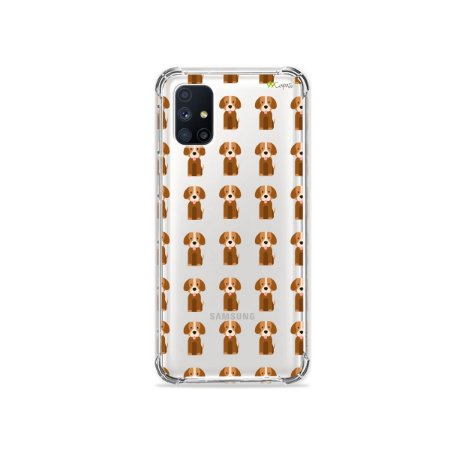Capa (Transparente) para Galaxy M51 - Cocker
