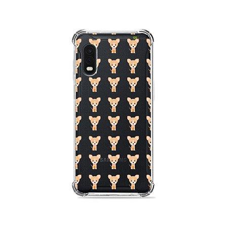 Capa (Transparente) para Galaxy XCover Pro - Chihuahua
