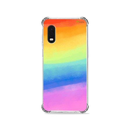 Capa para Galaxy XCover Pro - Rainbow
