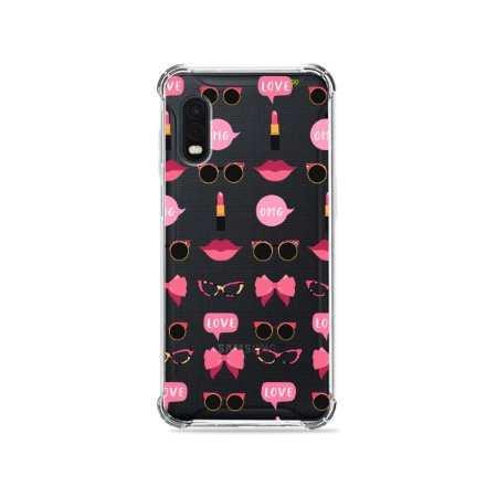Capa (Transparente) para Galaxy XCover Pro - Girls