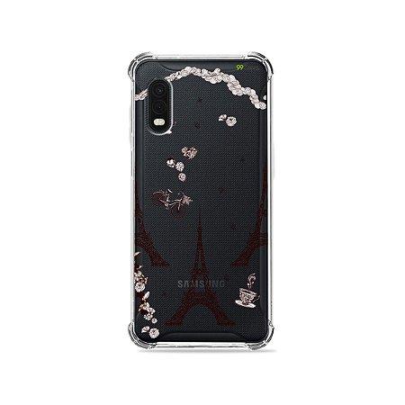 Capa (Transparente) para Galaxy XCover Pro - Paris