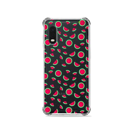 Capa (Transparente) para Galaxy XCover Pro - Mini Melancias