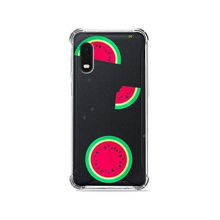 Capa (Transparente) para Galaxy XCover Pro - Melancias