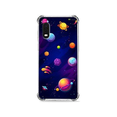 Capa para Galaxy XCover Pro - Galáxia