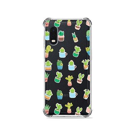 Capa (Transparente) para Galaxy XCover Pro - Cactus