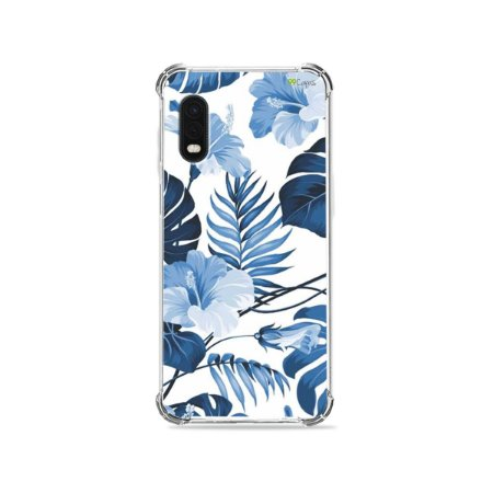 Capa para Galaxy XCover Pro - Flowers in Blue