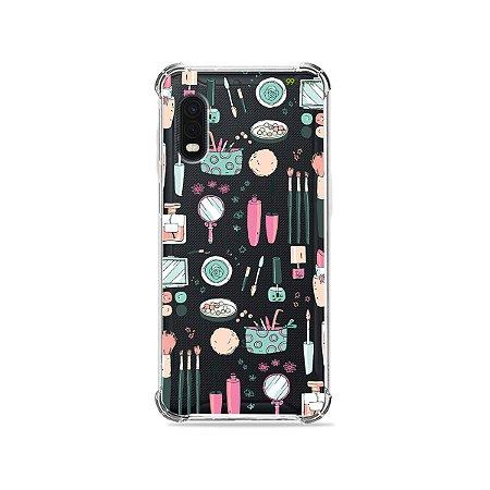 Capa (Transparente) para Galaxy XCover Pro - Make Up