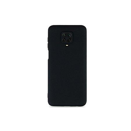 Silicone Case Preta para Redmi Note 9S (com proteção na câmera)