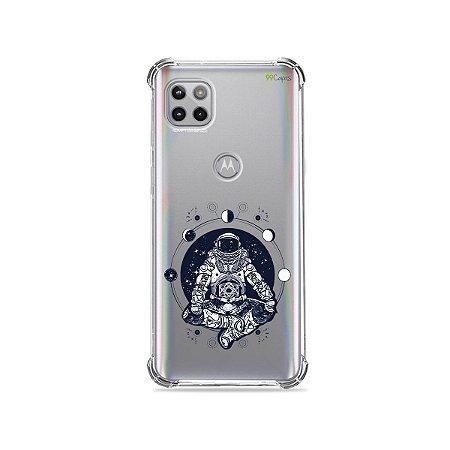 Capa (Transparente) para Moto G 5G - Astronauta