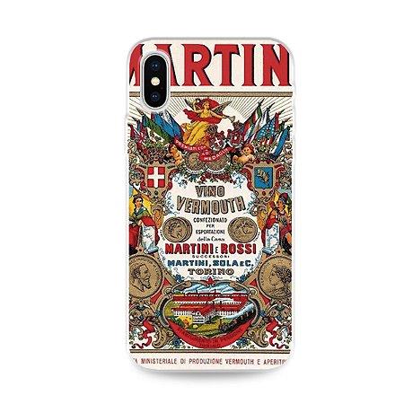 Capa para iPhone X / XS - Martini