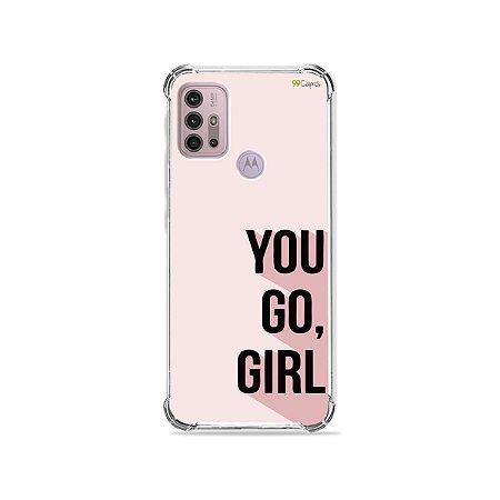 Capa para Moto G30 - You Go, Girl
