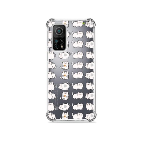 Capa (Transparente) para Xiaomi Mi 10T Pro - Lazy Cat