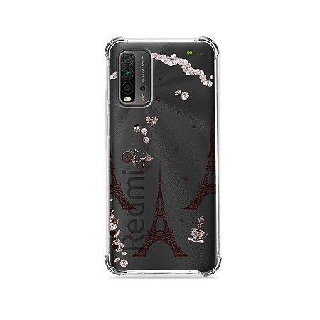 Capa (Transparente) para Redmi 9T - Paris