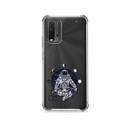 Capa (Transparente) para Redmi 9T - Astronauta