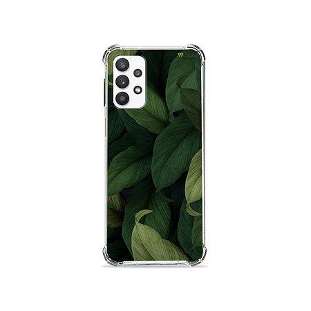 Capa para Galaxy A32 5G - Folhas