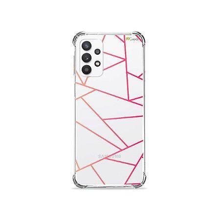Capa (Transparente) para Galaxy A32 5G - Abstrata