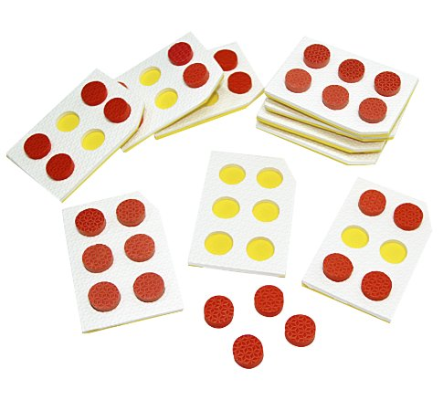 Braille Alfabeto vazado - EVA - 15 pc - Emb. plast.