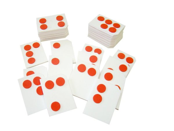 Braille Alfabeto colado EVA - 26 pc - Emb. plast.