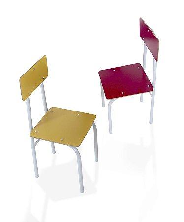 Cadeira de ferro avulsa - Cx. papelao