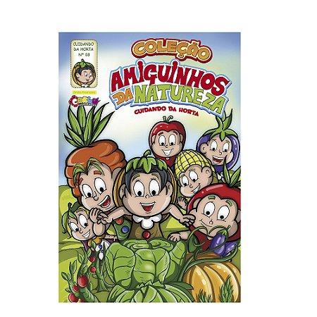 Livrinho amiguinhos da natureza - Aprendendo com as frutas