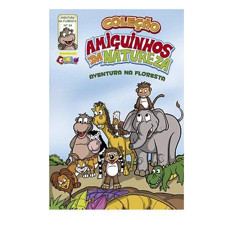 Livrinho amiguinhos da natureza - Animais selvagens