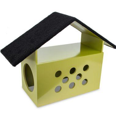 Carlu Pet House - Arranhador Little House Dourado