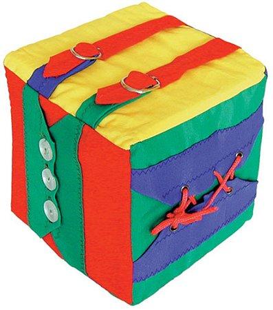 Cubo De Atividade 1 Cubo 16x16x16cm Para 6 Atividades