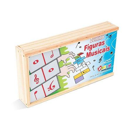 Musicalizacao Domino Figuras Musicais Em Eva