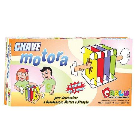 Brinquedo Educativo Chave Motora Em Mdf 11 Peças - CARLU