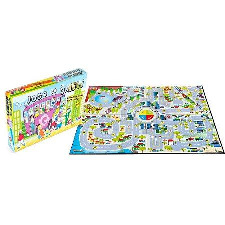 Brinquedo Educativo Jogo Do Onibus Em Mdf 427 Peças - CARLU