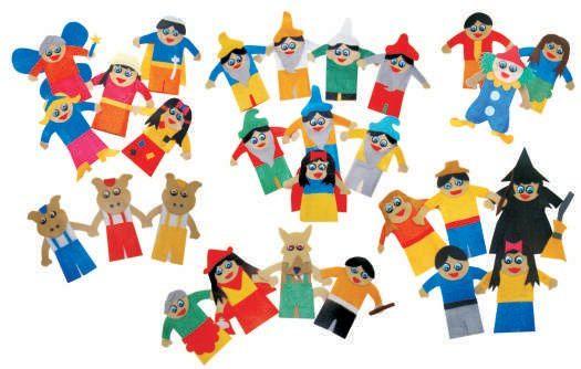 Dedoche Contos E Estorias Infantisfeltro 28 Personagens