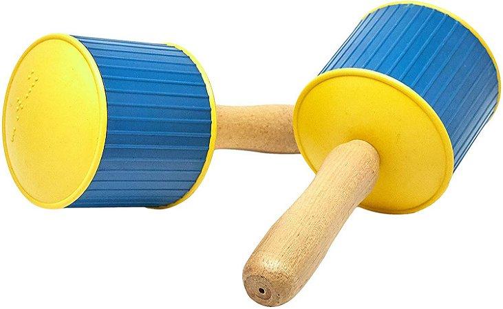 Brinquedo Educativo Maracá Instrumento Musical Idiofônico - CARLU