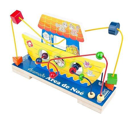 Brinquedo Educativo Aramado Arca De Noé - CARLU
